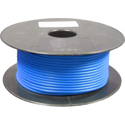 Single Core Cable 28/030 x 50m Blue - Car Van Truck Tractor lorry Automotive Auto Electric Marine Cable Round Trailer Wire Wiring PVC