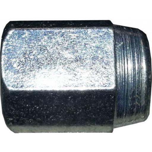 Copper Brake Pipe Nuts 3/16 x 3/8 FEMALE (25) - Car auto connectors Nuts Unions