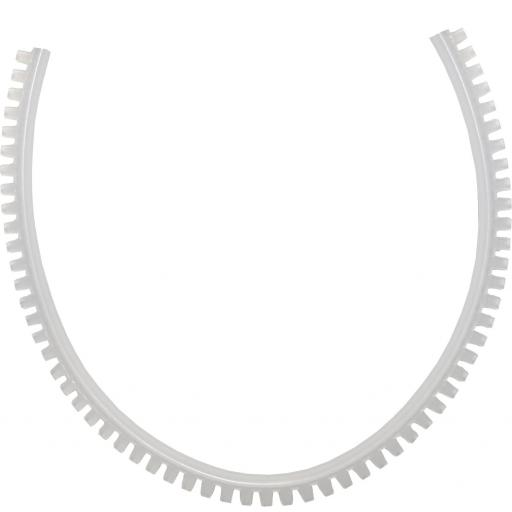 Grommet Strip 2.4 - 3.2mm (10mtr) - Flexible Grommet Strip For Panel Electrical Protection Serrated Edging Edge Guard Electrical Wire Cable