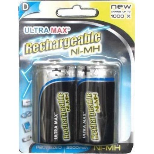 Rechargeable Battery/Batteries D (2)  - Rechargeable Battery/Batteries D Ni-MH Toys