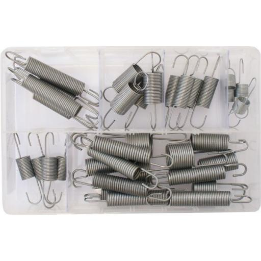 Assorted Box of Clutch and Accelerator Springs (36) - Car Van Throttle