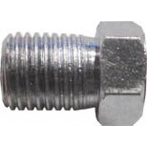 """Copper Brake Pipe Nuts 3/8"""" UNF (25) - Car auto connectors Nuts Unions"""