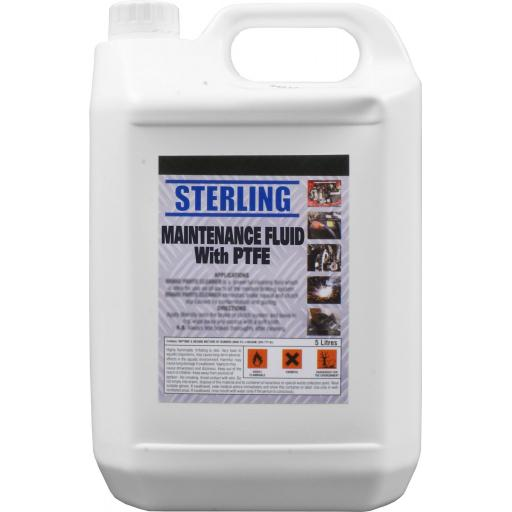 Sterling Maintenance Spray, Penetrating Oil Aerosol/Spray + PTFE (5 lts) - Corroded Rusted Rust Bolts Nuts Screw