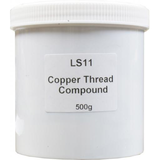 Copper Thread Compound (500g)- Copper Slip 500g Tin Multipurpose Anti Seize Assembly Compound Grease