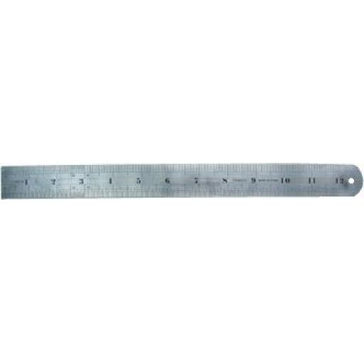 """Stainless Steel Ruler 12 """" - Measure Rule Metal Stainless Steel"""