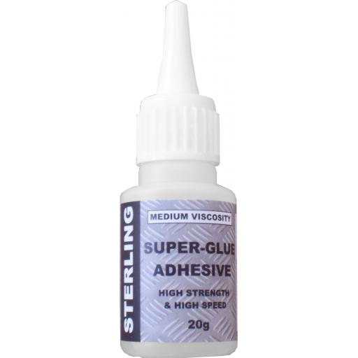 Sterling Superglue (20g) - High Strength High Speed Industrial Super Glue Bonder Adhesive