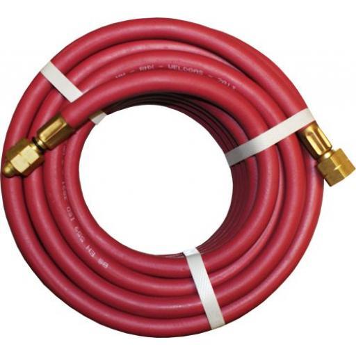 Fully Fitted Red Acetylene Hose - Gas Welding welder Hose Hosing  Suction Compressor Rubber Weld Hose