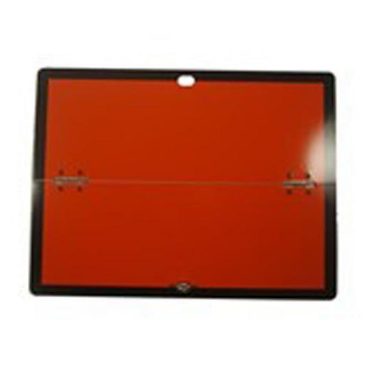 Folding Hazchem Board ADR Reflective - Signs Lorry Truck Trailer Aluminium Sign Board