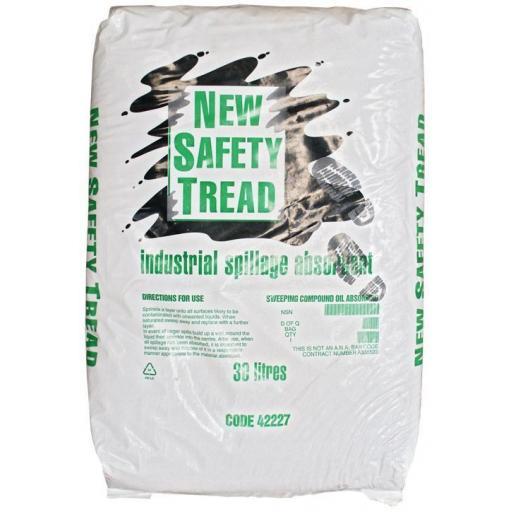 Spillage Absorbent Granules (30ltr) Universal Oil Chemical Liquid Absorbent Spill Granules 30 Litre Sack