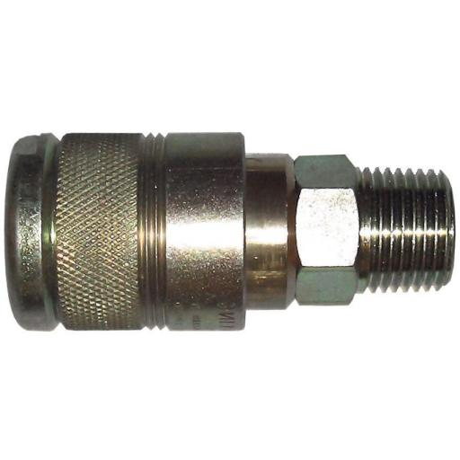 "PCL Airline 100 Series - Male Thread 1/2"" BSP - Coupling Connector Air Line Hosing Hose Compressor Fitting Air tool"