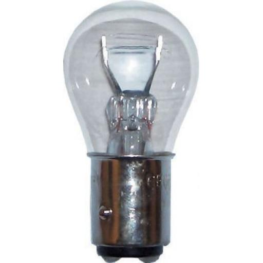 EB566 Bulbs Tail/Fog 12v-21/4w BAZ 15D- Car Auto Van Driving Light Bulb , Brake, Fog, Indicator , Bulb Fittings