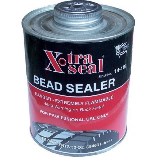 Tyre Bead Sealer (1 Ltr) Tyre Bead And Repair Sealer Seal Leaks Between Tire And Wheel Rim Puncture