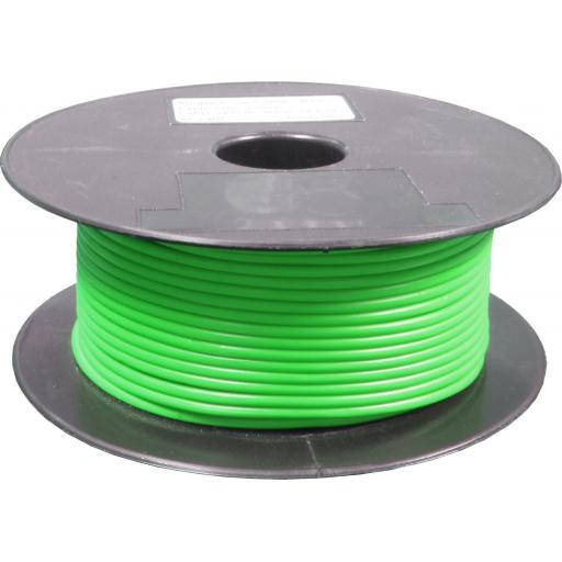 Single Core Cable 28/030 x 50m Green - Car Van Truck Tractor lorry Automotive Auto Electric Marine Cable Round Trailer Wire Wiring  PVC