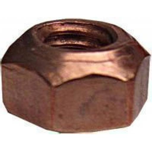 Copper Flashed Manifold Nuts 10mm (50)
