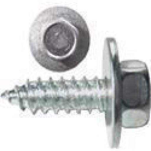 Self Tapping Screws 10 x 3/4 Hex-head BZP Self Tapper  BZP Csunk Pozi Posi Countersunk
