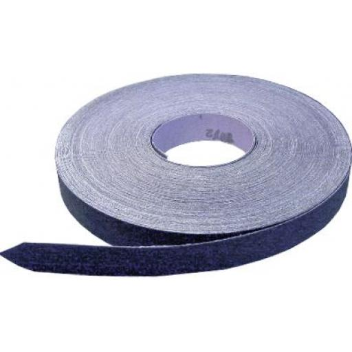 Emery Roll 25mm x 50m Coarse (60 grit) - Blue Cloth engineers aluminium oxide roll emery cloth tape