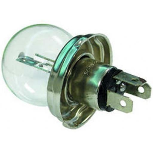 EB410 Bulbs 12v-45/40w P45T Assymetric - Tractor Driving Light Bulb  Main Headlight, Halogen Headlamp Lamp