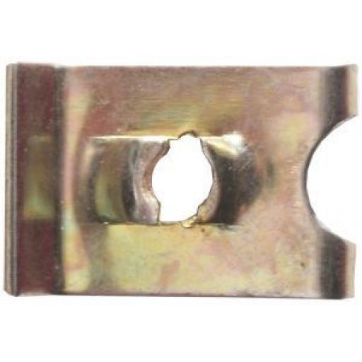 Speed Fasteners U Clips Type 6 (100) -  U Nuts Self Tapping Screw Spire U Clips Interior Trim Panels