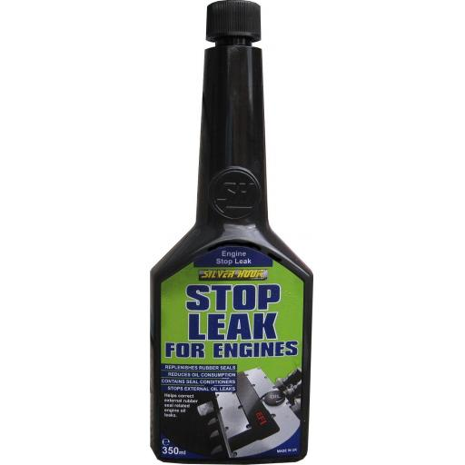 Engine Oil Stop Leak - 350ml - Petrol Diesel Engine Oil Additive  Treatment Gaskets Car Van Truck