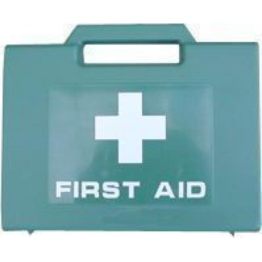 First Aid Kit for 10 Persons  - Medical Emergency Kit. Travel Home Car Taxi Workplace Camping Caravan Holiday