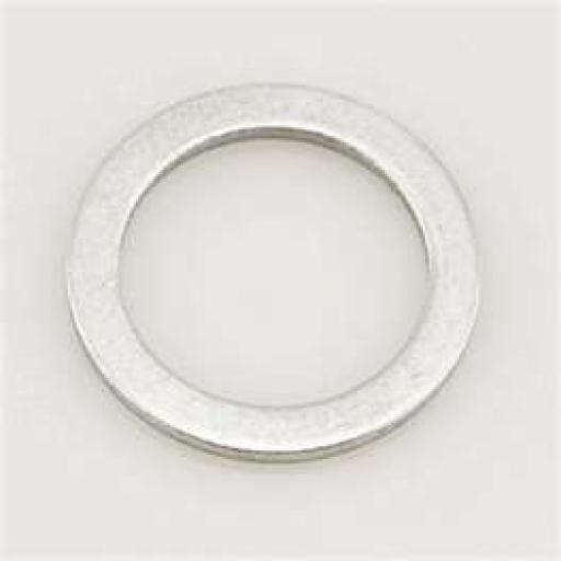 Aluminium Sealing Washer 17 x 2 - Metric - Flat Seal Washer Car Sump Plug Drain Banjo Fuel Bolt Gasket