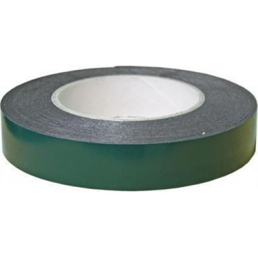 Double Sided Foam Tape (12mm) Black Double Sided Foam Automotive Bodyshop Permanent Self Adhesive Car Auto Trim Body Tape