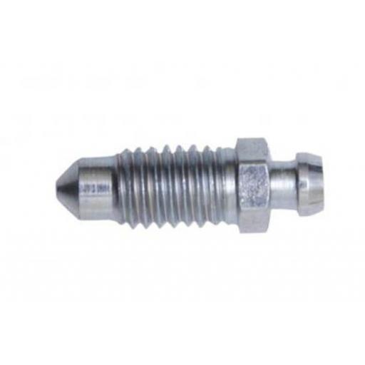 Brake Pipe Bleed Screws M8 x 1.25 (10)  - Brake Line Roll Tube Piping Joint Union Hosing Car Van Auto Garage