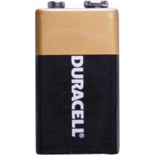 Duracell Battery/Batteries 9v (1) - Dyracell Duracel Long Lasting Battery/Batteries AAA