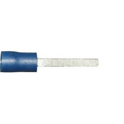 Blue Blade 18.4 x 2.3mm (crimps terminals) -  Blue Car Auto Van Wiring Crimp Electrical Crimping Spades Connectors - Auto Electric Cable Wire